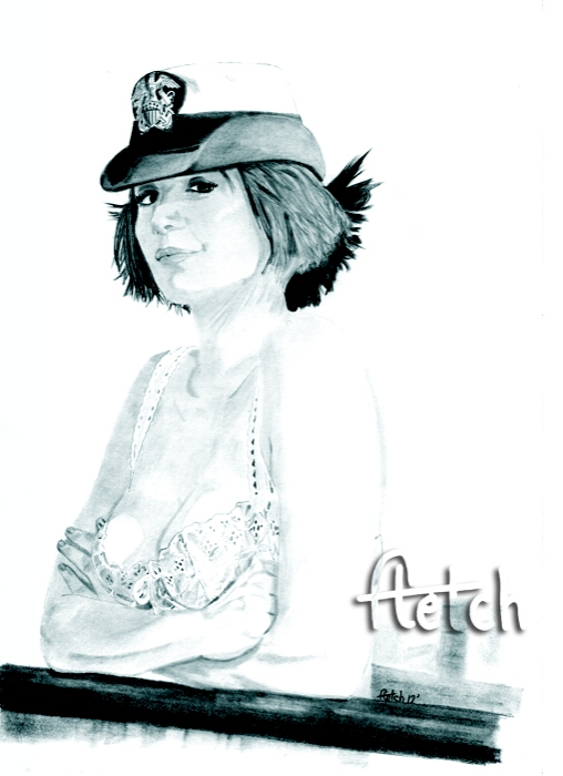 Catherine Bell by Fletch